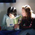 Nikta_enjoying_reading_time